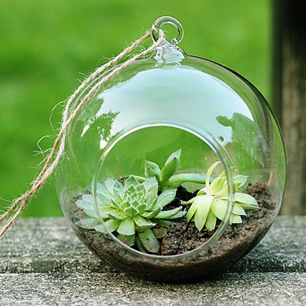 2018 High Quality Clear Glass Round Terrarium Flower Plant Stand ...