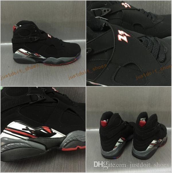 New Arrivals NEW Cheap 8 Basketball Shoes Cheap VIII Top AAA Quality Sports Sneakers Black Red Size 36-47 Free Shipping cheap buy authentic L7aiy62E
