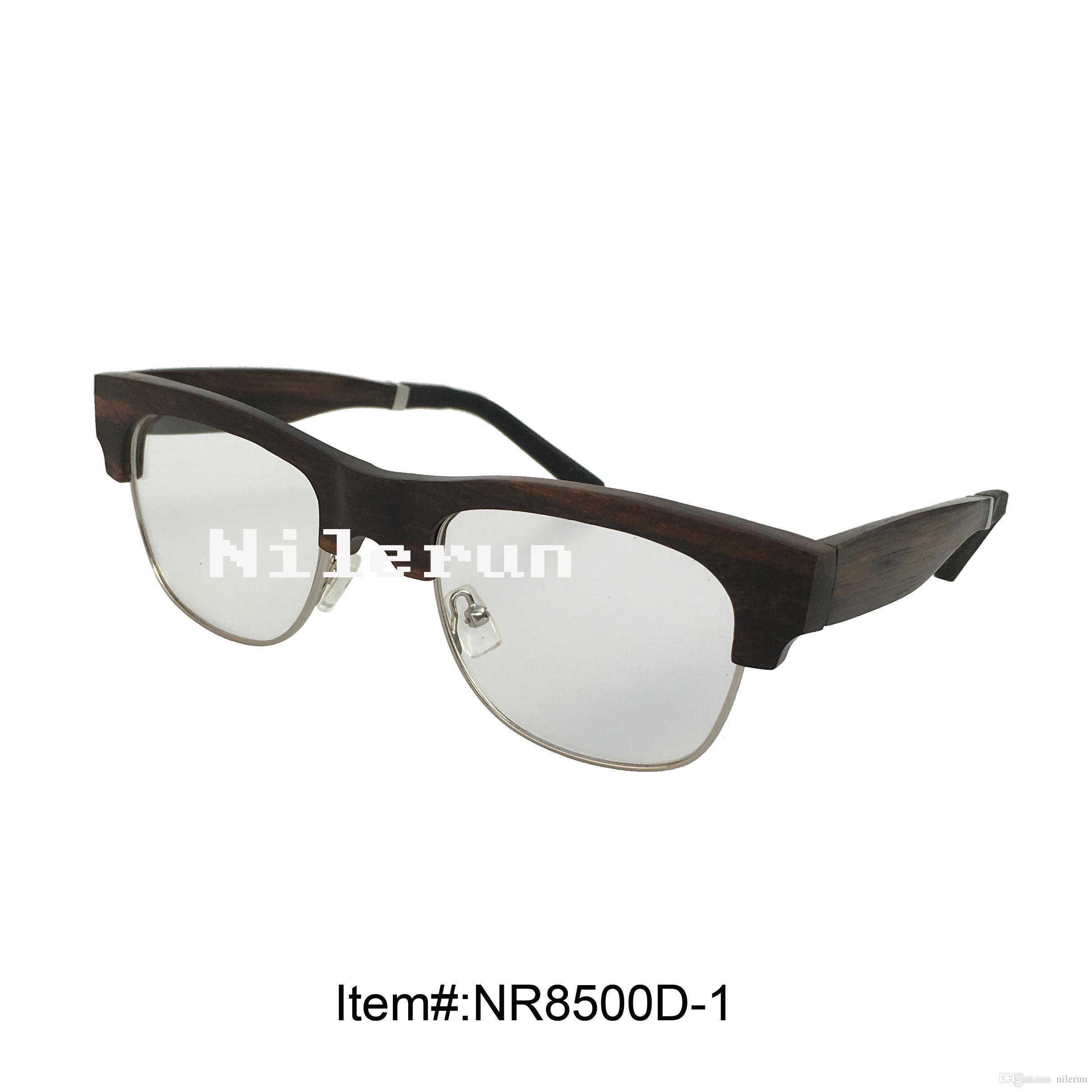 32d56d1d59 Metal Ebony Wood Optical Reading Glasses Metal Wood Glasses Metal Wood  Eyewear Metal Wood Eyeglasses Online with  63.48 Piece on Nilerun s Store
