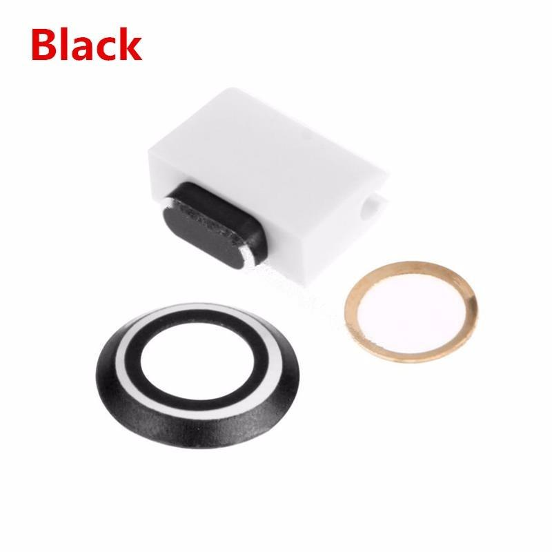 For I 7PLUS Camera Lens Protector Ring Case & Touch ID Support Home Button sticker & Cable protector & Anti Dust Plug Set For I 7 7plus