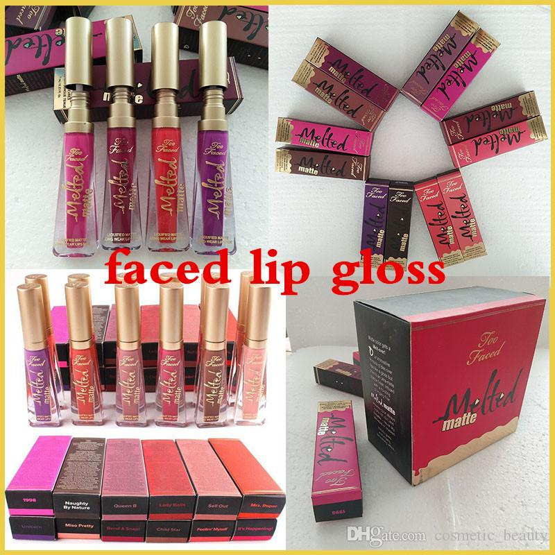 In stock! thenew free Epacket New Melted Matte 12 Colors Liquid Matte Lipstick Long-lasting Lip Gloss Long-Wear Matte Lipsticks