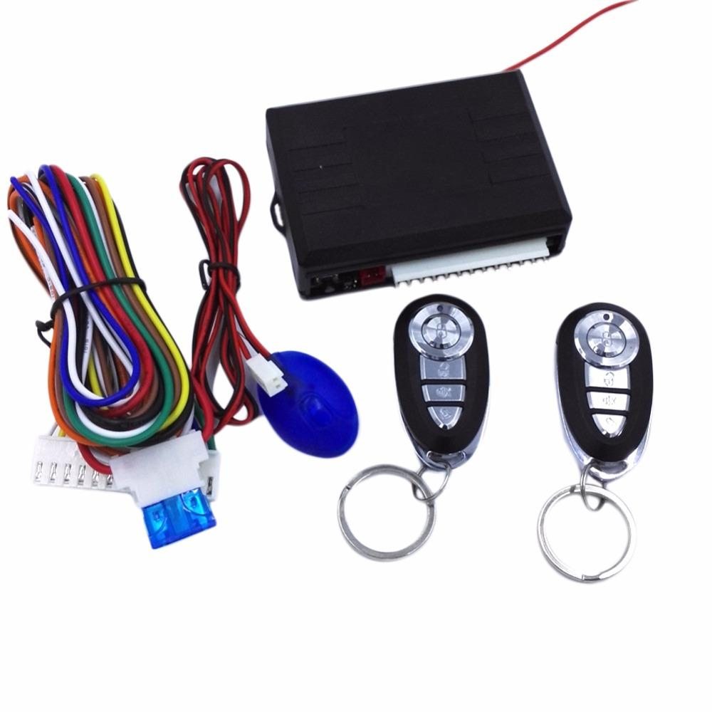 Atacado-Car Universal Controle Remoto Central Door Lock Kit Locking Keyless Entry System