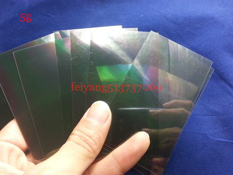 Original A quality 100% for iPhone 7g 7 plus 4 4s 5 5s 5c se 6 6s LCD Polarizer Film Polarization Light Film