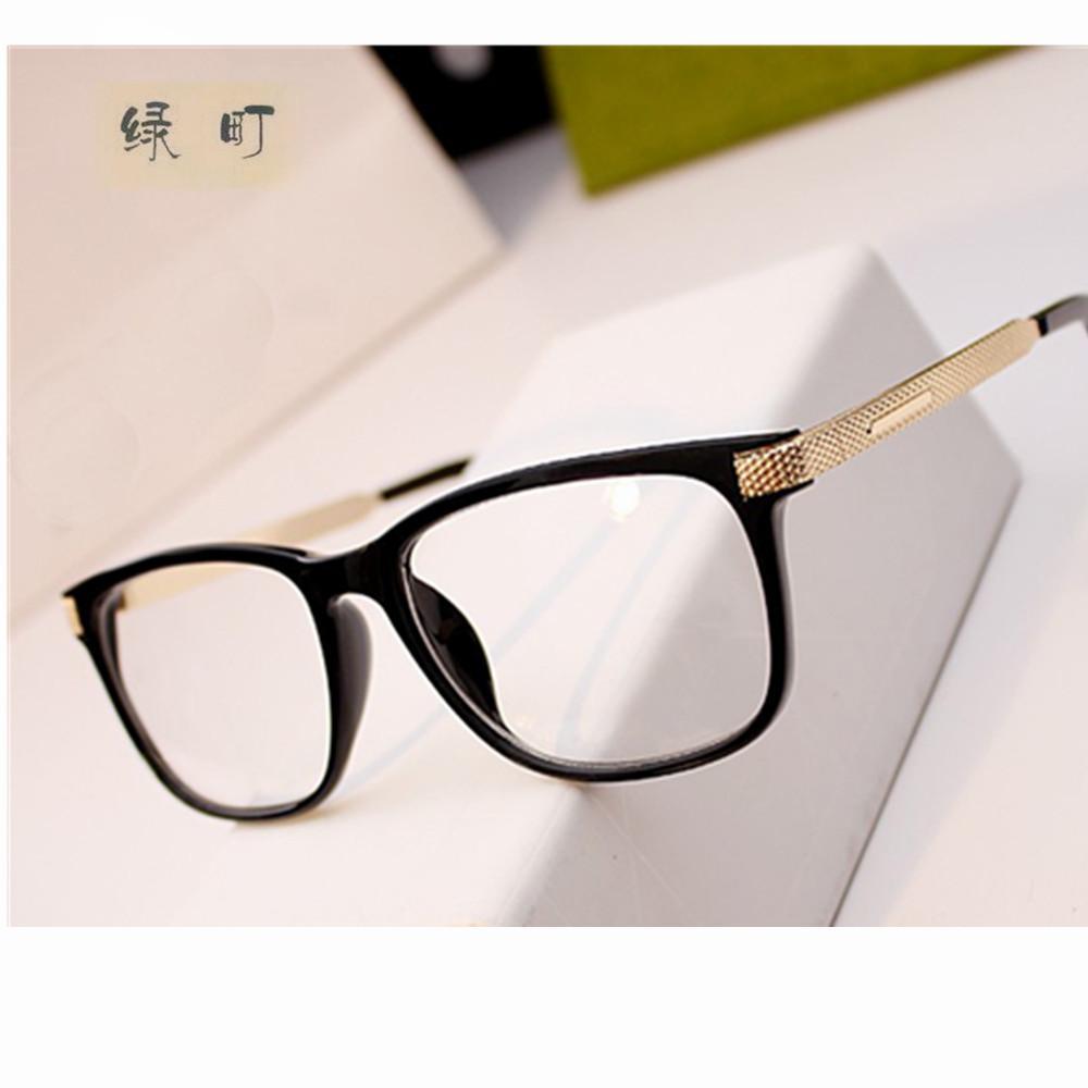 2018 Wholesale Eyeglass Frames Retro Men Women Clear Designer ...