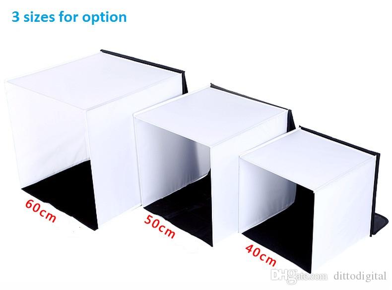 photography studio shooting tent light softbox and 4 backdrops for photography box 40 50 60cm perfect for digital and film camera shoot
