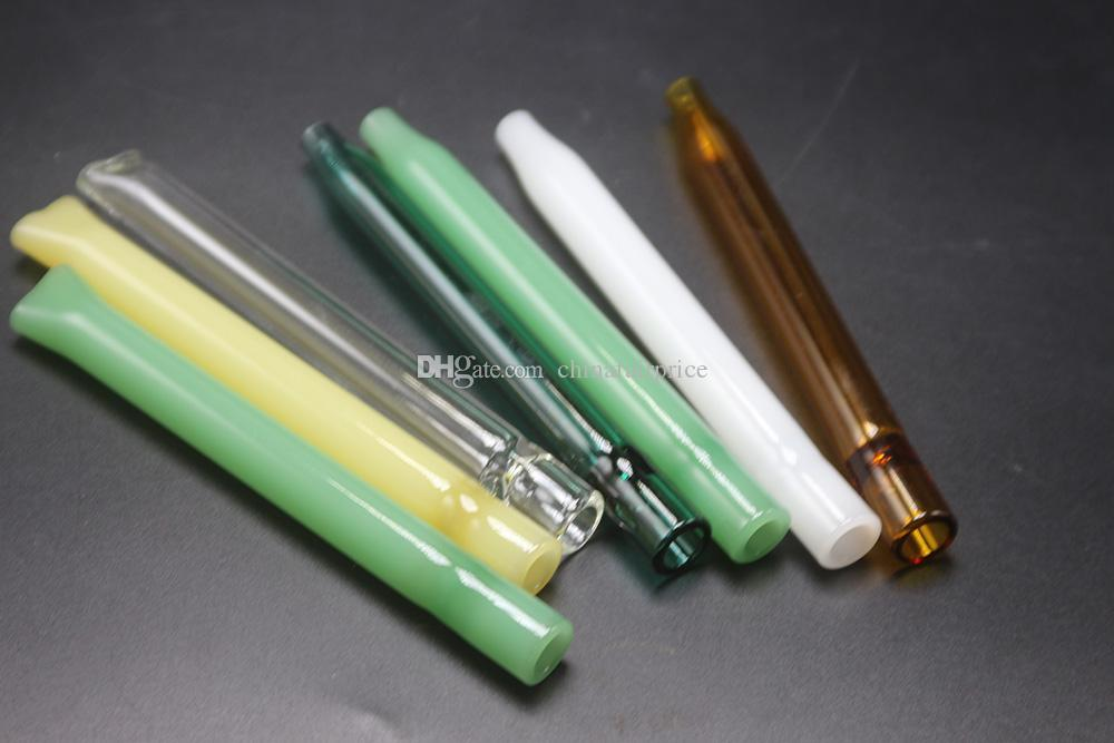 ful Handcraft Pyrex Glass Filter Oil Burner Pipe Mini Smoking Hand Pipes Thick Glass Pipe Oil Pipe Water Bubbler DHL