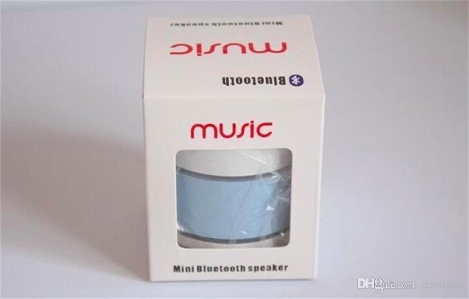 Altoparlante senza fili Altoparlanti Bluetooth Mini A9 Led Colorato Flash Speaker FM Radio TF Card USB iPhone X 8 Mobile Phone PC S8