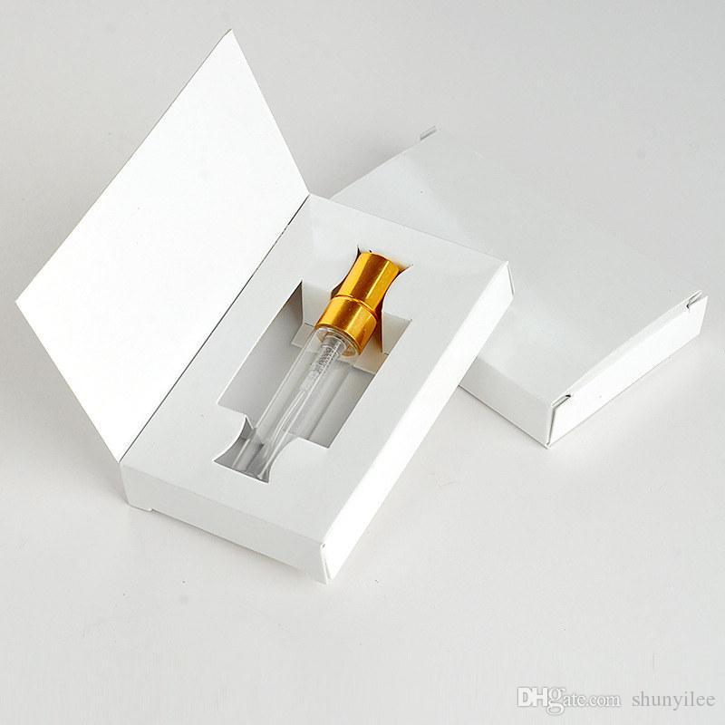 5ML 10ML زجاجة عطر البخاخة زجاجة عطر بخاخ مع التعبئة مربع مستحضرات التجميل فيال زجاجات إعادة الملء F20172469
