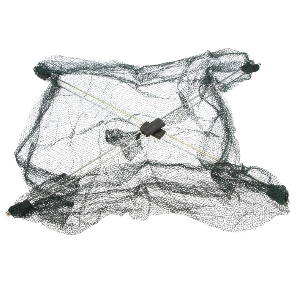 q0205 60*60cm Fishing Nets Foldable Mesh Baits Trap Cast Dip Net Crab Shrimp Smelt Eel Crab Lobster Minnows Shrimp Crawfish Net