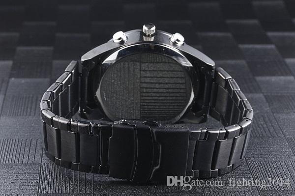 Macchina fotografica ultra-sottile dell'orologio 1080P con visione notturna IR auto aperto Full HD Motion Detection Guarda videoregistratore Orologio da polso moda DVR fotocamera