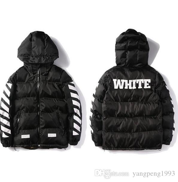 2018 Wholesale Off White Winter Jacket Men Parka High Quality ...