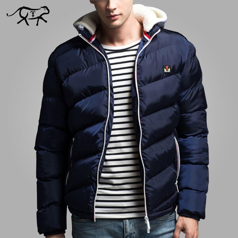 2019 Wholesale New Brand Clothing Winter Jacket Men Fashion Hooded