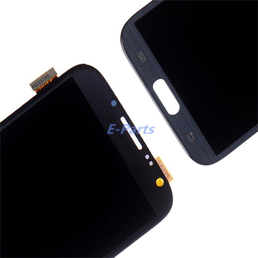 100% testado trabalho original tela lcd para samsung galaxy note 2 n7100 n7105 t889 i905 i900 lcd lcd digitador assembléia rápido frete grátis