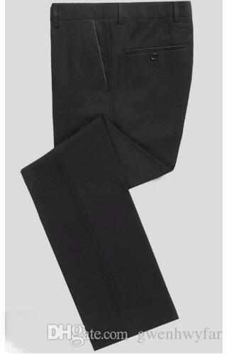 New Elegant Royal Blue Velvet Groom Tuxedo Jacket Black Lapel Mens Blazer Slim Fit Suit Men Wedding Suits Jacket+Pants