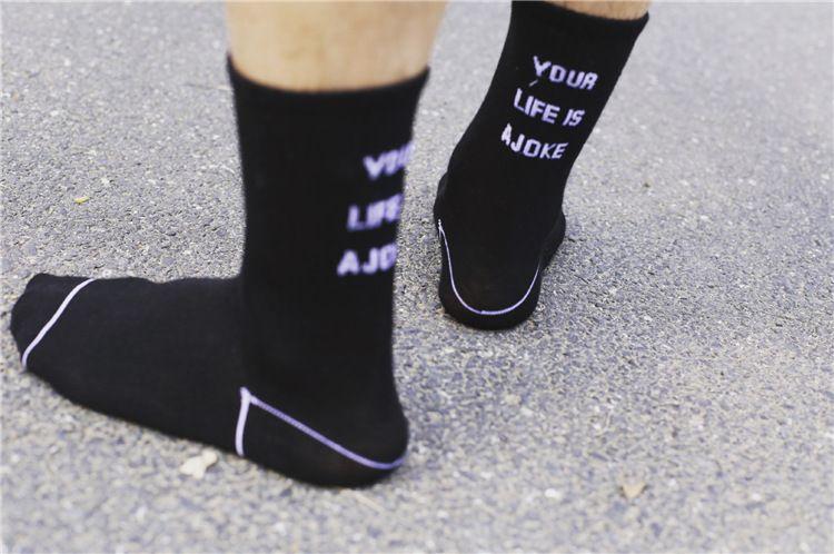 Venta al por mayor Medias de hombre Ader Error Calcetines Marca de moda Calcetines de mujer Calcetines blancos Calcetines deportivos Calcetines deportivos Calcetines