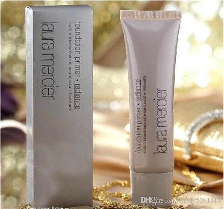 Makeup Laura Mercier Foundation التمهيدي / ترطيب / قاعدة المعدنية / النفط الحرة 50ML 4STYLES جودة عالية الوجه ماكياج 6 أنماط A08