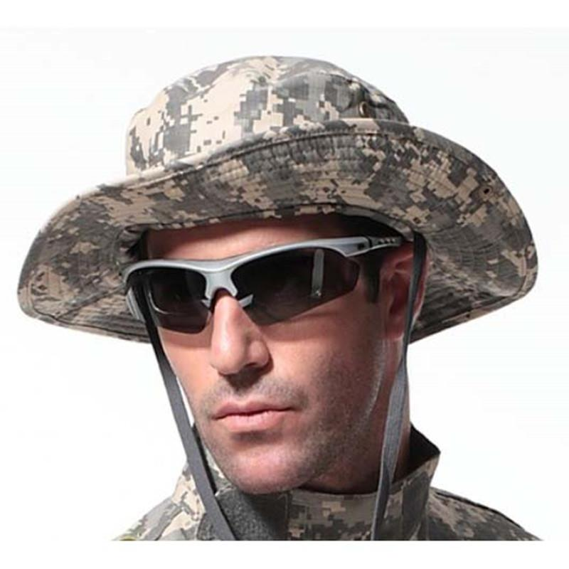 c6cf9d750a5 2019 Tactical Airsoft Sniper Camouflage Boonie Hats Nepalese Cap Militares  Army Mens American Military Accessories Hiking A Tacs FG From Yihanstore