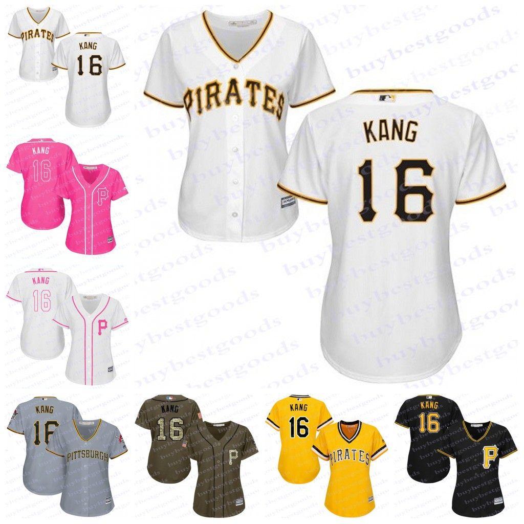 451a1155 ... where to buy 2017 2017 womens pittsburgh pirates jerseys 16 jung ho  kang baseball jerseys ladies