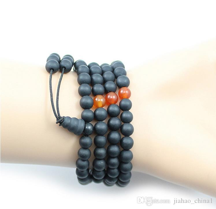 Authentic Bianzhuang 108 Buddha beads agate bracelet male and female models anti-fatigue radiation natural manufacturers wholesale