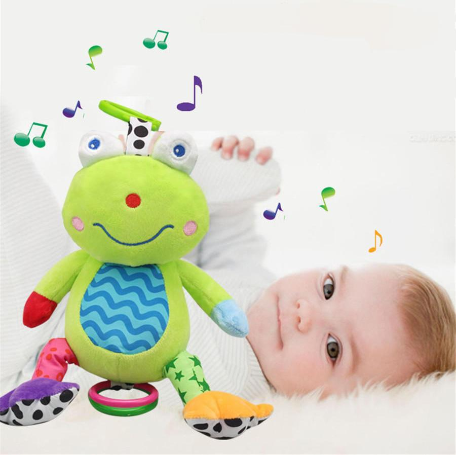 Toys For 0 2 Years : Wholesale baby music plush toy years old kids