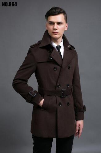 a321c5cbce9 2019 Black Grey 2017 Spring Casual Woolen Overcoat Mens Cashmere Coat  Casaco Masculino Inverno Erkek Mont Sobretudo England 6XL From Pengliuwang
