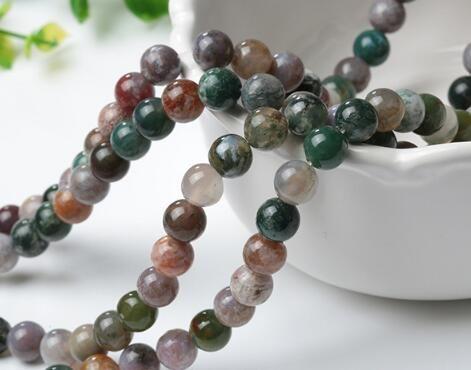 Agate Perles Loose Natural Stone DHL Inde Perles Accessoires Semi Pierre Précieuse Perles Accessoires Fit pour Bijoux Bracelet Making DIY