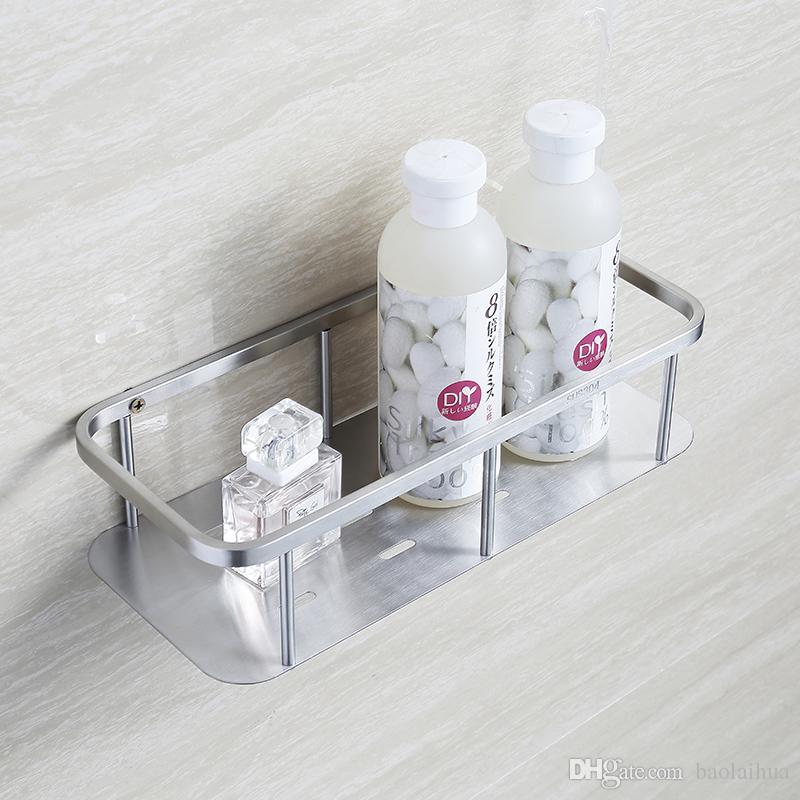 Genial BESCHREIBUNG. BLH822 Bad Produkt Zubehör Edelstahl Badezimmer Wand  Duschregal Dusche Caddy Lagerregal Gebürstetem Nickel ...