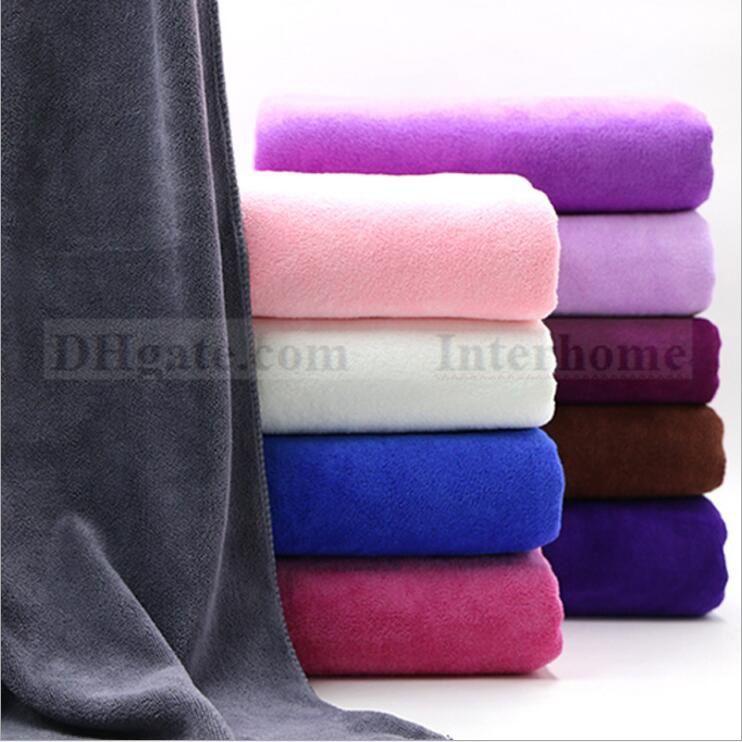 microfiber bathtowels super soft beach towel sport towel drying washcloth swimwear shower body wrap travel camping towels bath sheet bful bath towels cheap