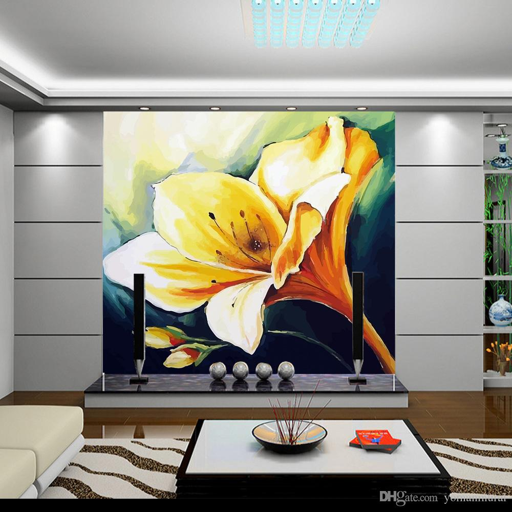 Wholesale Customize Any Size Wallpaper Murals Bedroom Tv Background ...