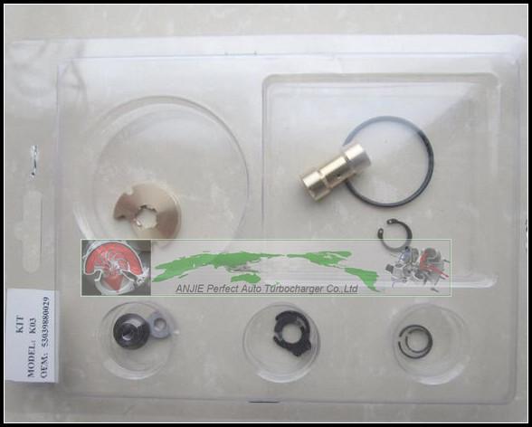 Turbo Repair Kit rebuild kit For AUDI A4 A6 VW Passat 1.8T ATW AUG BFB AEB 1.8L 150HP K03 53039700029 53039880029 Turbocharger (2)