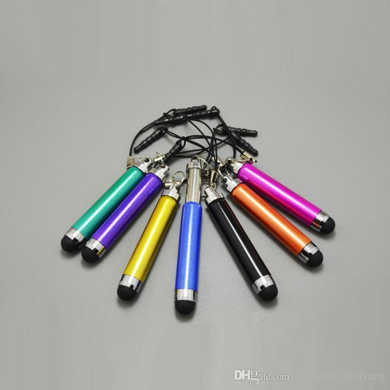 안 드 로이드 휴대 전화 태블릿 PC / 중반에 대 한 색상 개폐식 스타일러스 터치 스크린 펜