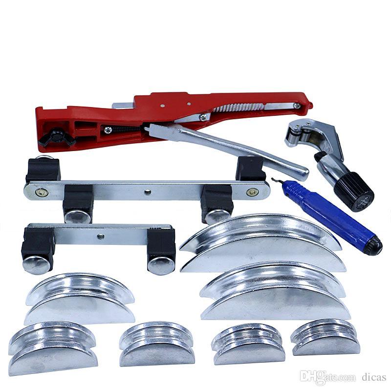 herramienta de condición de aire libre del envío establece la dobladora del tubo de cobre doblador de tubo de metal -22mm doblador de tubo de cobre del tubo de aluminio CT-999F