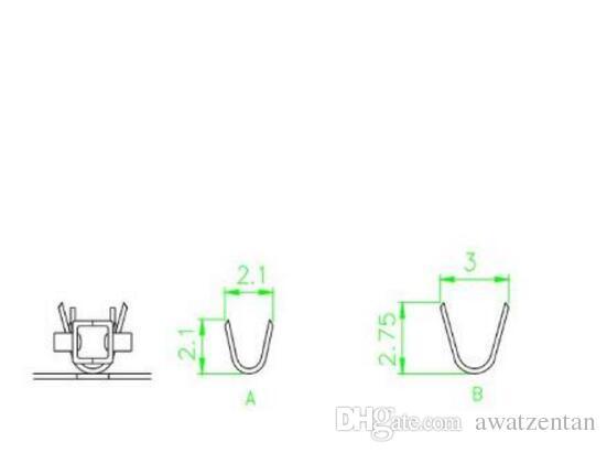 300 TEILE / LOS Molex 4,2 MM 5557 Terminal / stecker / stecker, Pitch: 4,2 MM, draht Kabel Gehäuse Female Pin