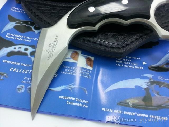 Unite Messerklaue Karambit Messer G10 Griff Klappmesser Survival Outdoor Ausrüstung Tasche EDC Jagdmesser