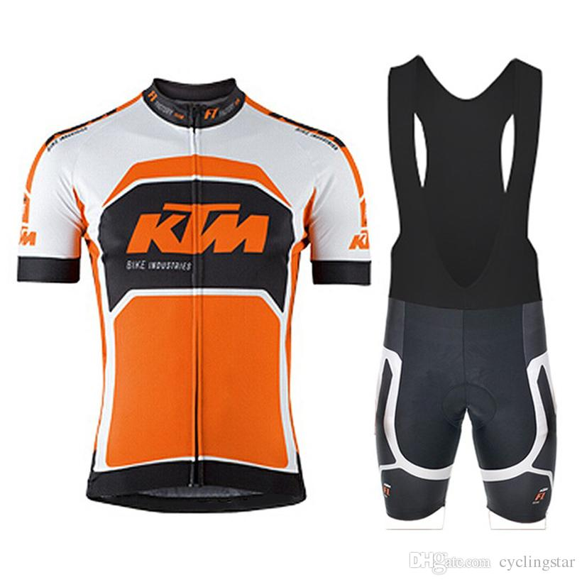 027db502f New Pro Team KTM Men Cycling Clothing Ropa Ciclismo Hombre Sport Cycling  Jersey Summer Style Mtb Bike Maillot Ciclismo Bicicleta Wear B2409 Cycling  Clothing ...