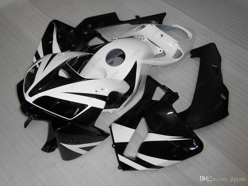 Bodywork Cbr600 Rr 05 Full Body Kits For Honda Cbr600rr 2005 Black White Abs Fairing Cbr 600 Rr 06 2005 2006