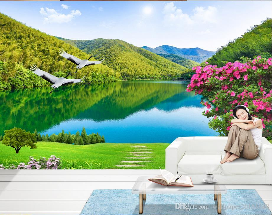 Rivers And Mountains 3d Landscape Wall Murals Mural 3d Wallpaper 3d Wall  Papers For Tv Backdrop Free Wallpapers Backgrounds Free Wallpapers Download  From ... Part 70
