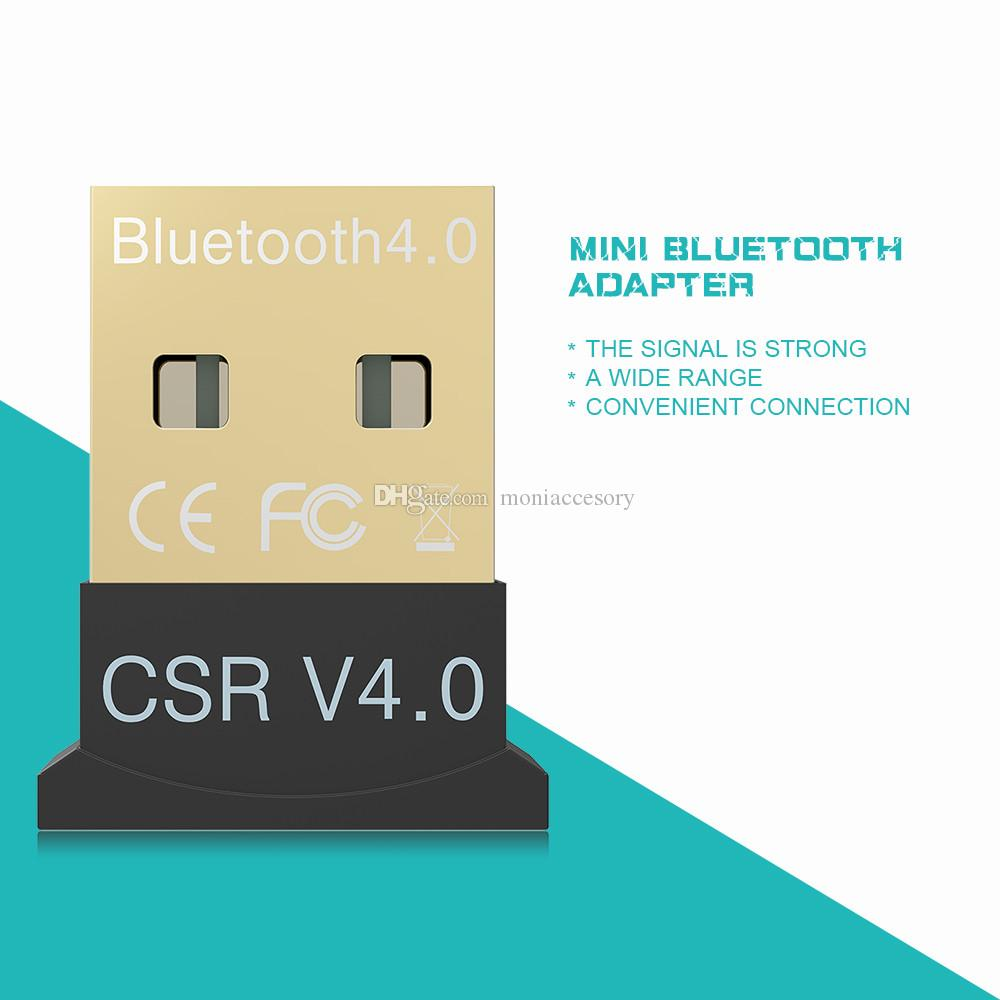 Mini USB Bluetooth 4.0 Adapters Dongle Bluetooth Adapter CSR 4.0 for Windows 10 8 XP Win 7 Vista