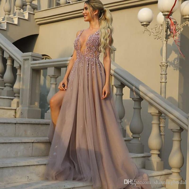 Backless Mermaid Prom Dress Embellished