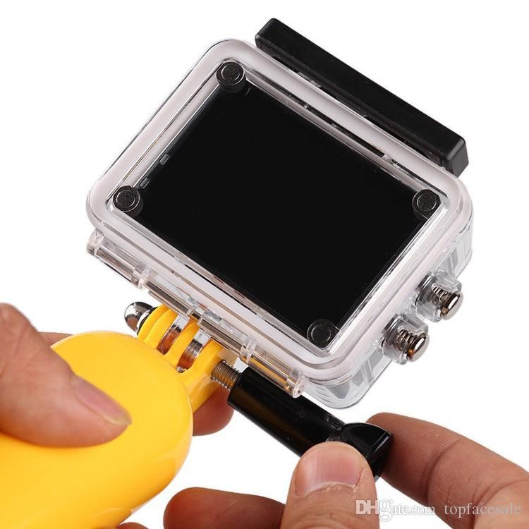 Hot For GoPro Bobber Floating Handheld Stick Impugnatura Monopiede Go Pro Hero 2 3 + / 3 4 5 6 7 nero Sj4000 Sport Accessori fotocamere