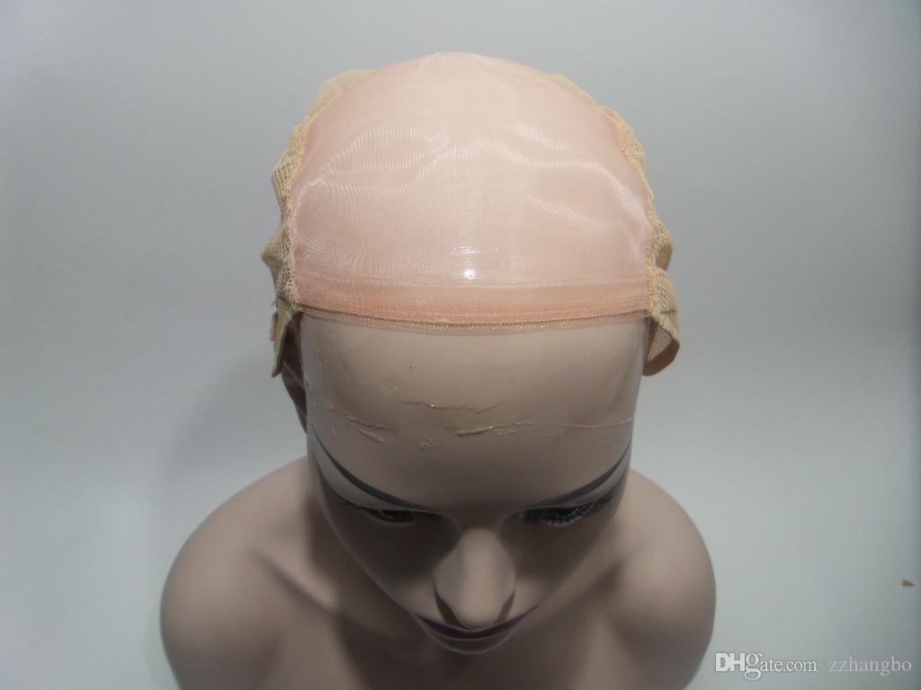 Pleine Dentelle Perruque Couleur 4 # Cheveux Raides Non Transformés Péruvien Vierge Cheveux Humains 100% Ombre Blonde Sans Colle Avec Des Cheveux De Bébé Blanchis Nœud Tisser
