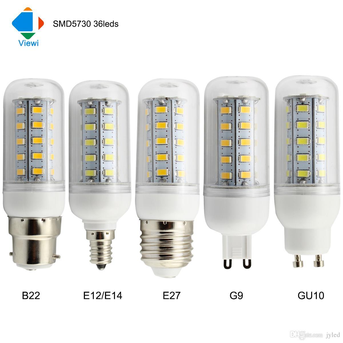 50x lampadine e12 e14 e27 b22 g9 gu10 led bulb light 110v for Lampadine g9 led