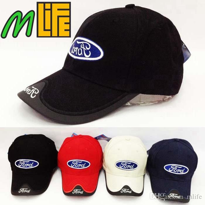 Good Quality Summer Ford Car Profession Baseball Cap F1 Racing Cup Leisure Ford  Hat Logo Hat Colours Headgear UK 2019 From Mlife 48d1646ba40