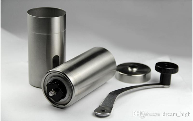 Aço inoxidável Mini Mão Manual Conveniente Mão Máquina De Moer Moedor De Café Moinho Moinho de Cozinha Ferramenta de Moagem