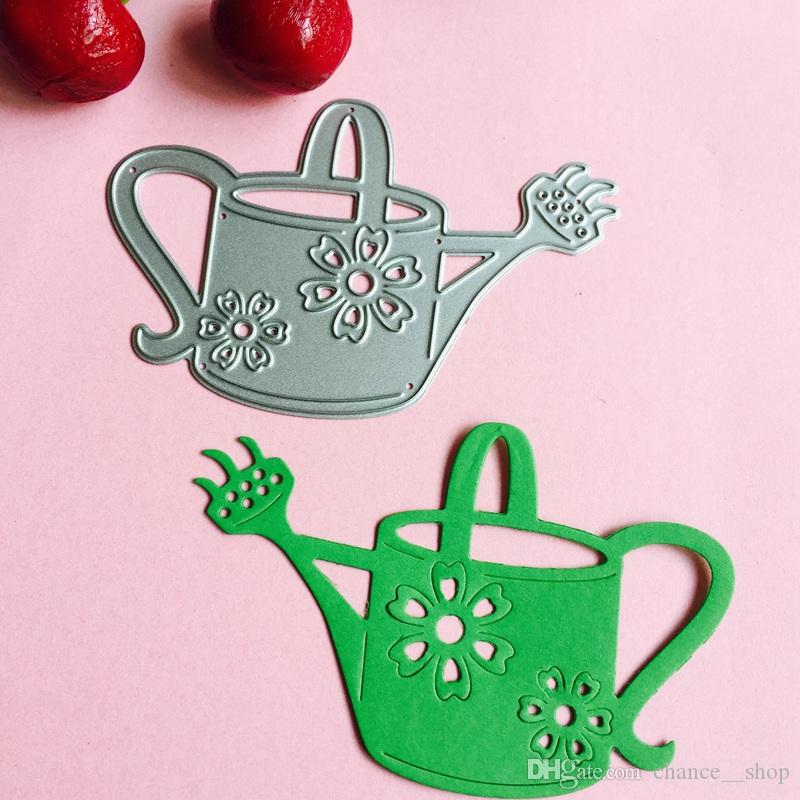 WATERING CAN small die cuts scrapbook cards