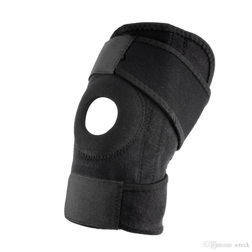 Kniestütze Strap Brace Pad Protector Sportknieschoner Badminton Basketball Running Bull atmungsaktiv Knie