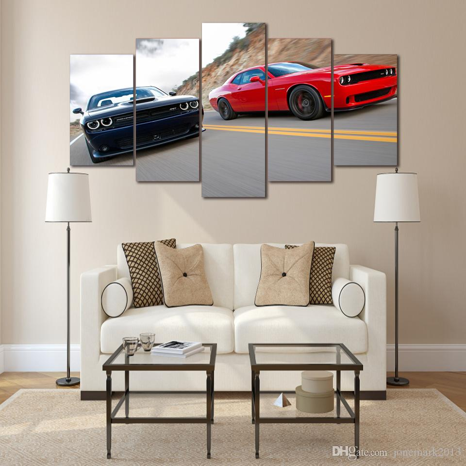 Framed HD Printed Sports car Painting wall art Canvas Print room decor print poster picture canvas /ny-1190