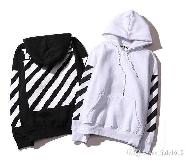 2017 Tide Brand Off White Hoodies High Quality Kanye West Abloh ...
