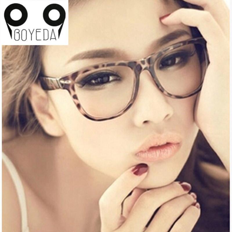 f319e9bc703 Wholesale- BOYEDA Fashion Eyeglasses Frames for Women retro Brand Eye  Glasses Frames for Men Vintage Female Spectacle Frame Optics Eyewear