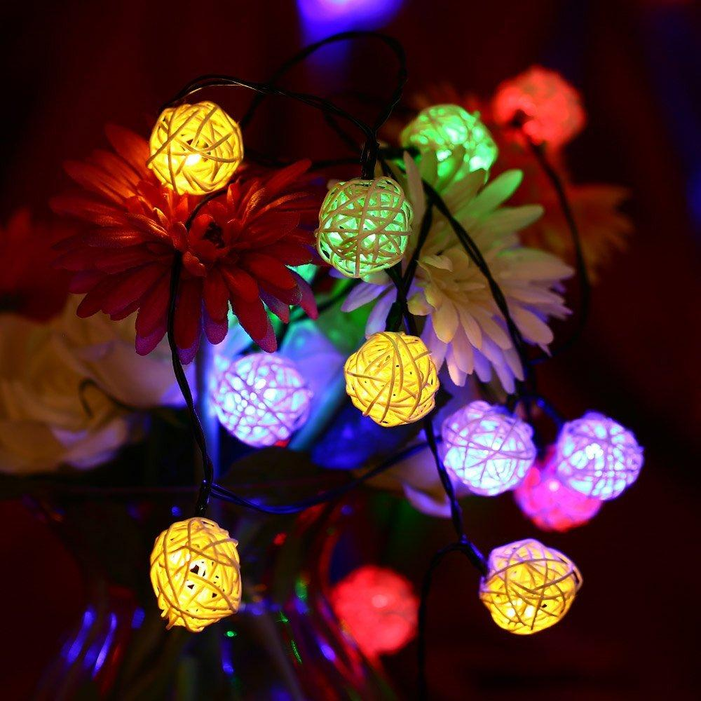 2018 wholesale 30 led rattan ball lamp solar powered string lights 2018 wholesale 30 led rattan ball lamp solar powered string lights waterproof globe fairy outdoor lights for gardens homes wedding christmas from callaway aloadofball Choice Image